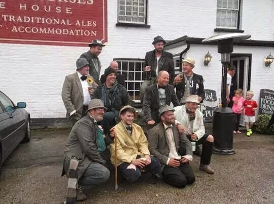 """Pub regulars hold """"tramp off"""" for Arran Tosh charity"""