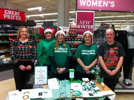 Christmas fundraising at Sainsburys