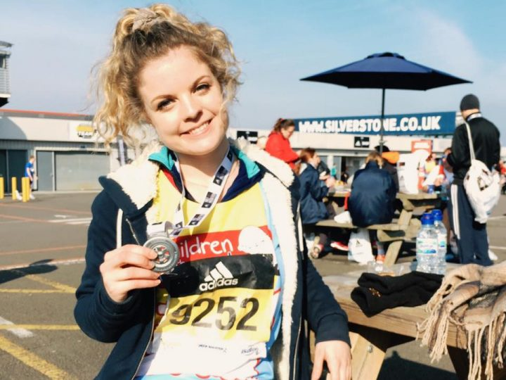 Alice Wotton is running the London Marathon