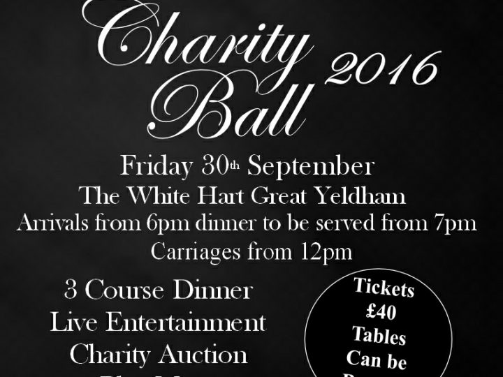 White Hart Charity Ball