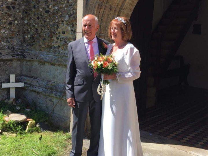 Barbara and Howards big day